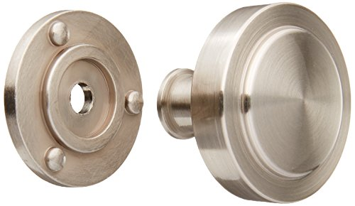 Amerock BP53710-G10 Rochdale Satin Nickel Cabinet Knob - 1-1/4 Diameter - 25 Pack -