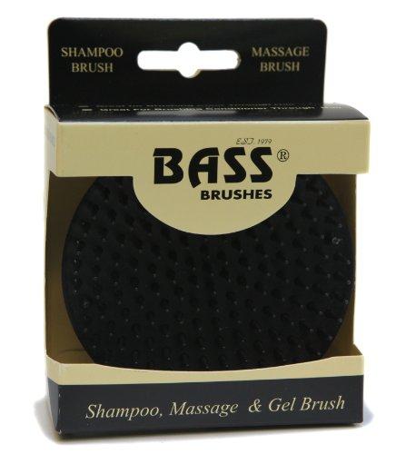 Bass-pinsel (Shampoo, Massage Gel-Pinsel, weiche Nylonborsten, 1 Bürste - Bass Bürsten)