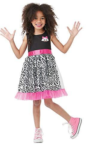 Rosa Diva Kostüm - Rubies I-300206L Offizielles Kostüm Diva LOL Überraschung, Kinder, Unisex, Rosa