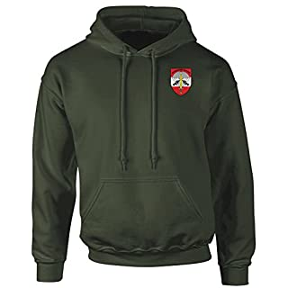 Jagdkommando Austrian Special Forces Embroidered Logo - Hoodie By Military online