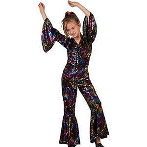 Atosa - Disfraz de hippie para niña, talla 3-5 años
