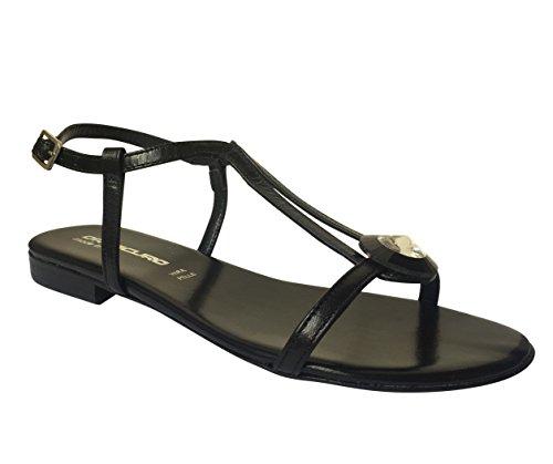Oroscuro , Sandales femme Black Jewel (SO76P)
