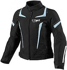 Jet Motorradjacke Damen Mit Protektoren Textil Wasserdicht Winddicht