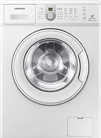 Samsung WF1600NCW/TL Front-loading Washing Machine (6 Kg, White)