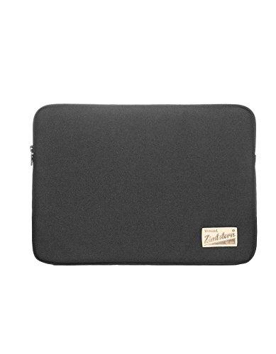 Zimtstern Laptop Sleeve paddiez 15pollici, Unisex, Laptop Sleeve Paddiez 15 zoll, Brown Mel, Taglia unica nero