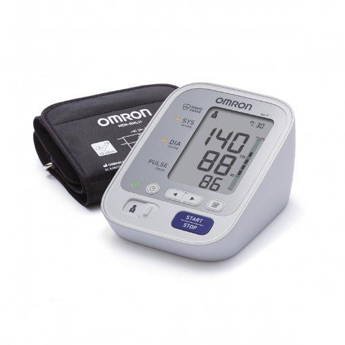 Omron M3 Misuratore di Pressione da Braccio Digitale, Sensore di Irregolarità Battito Cardiaco, Software per la Gestione delle Misurazioni Online Bi-LINK