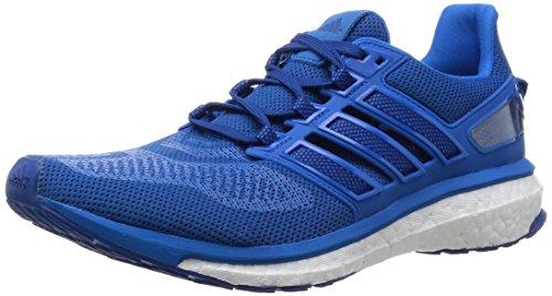 adidas Performance Herren Energy Boost 3 Laufschuhe, Blau (Eqt Blue S16/Eqt Blue S16/Shock Blue S16), 45 1/3 EU