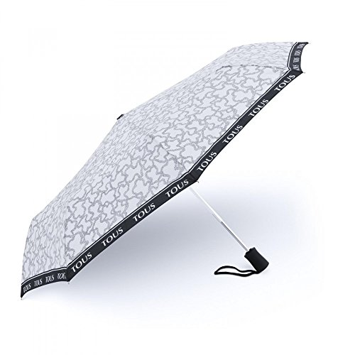 Paraguas plegable Kaos New color arena-negro TOUS