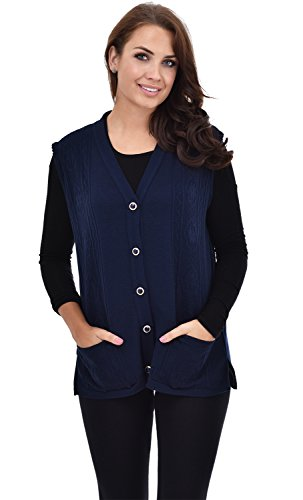 Nightingale Collection -  Canotta  - Donna Navy