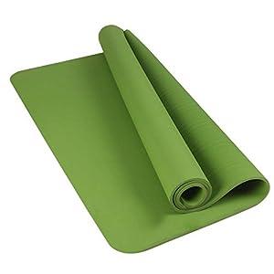 Shi18Sport Doppel TPE Yogamatte 122 cm Extra Breit Und Geschmacklos Anti Slip Fitness Matte, Yoga Mat Mat