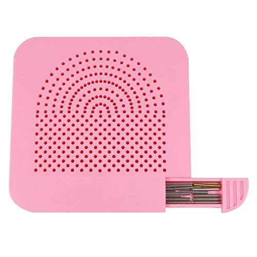 JUNERAIN Handgemachte Quilter Grid Guide für Papier Falten Craft Paper Quilling (Pink) -