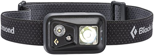 Farbe Spot (Black Diamond Spot Headlamp Black / Dimmbare Stirnlampe mit fokussiertem Fernlicht und Nahbereich / Ideal zum Klettern und Skifahren, max. 300 Lumen)