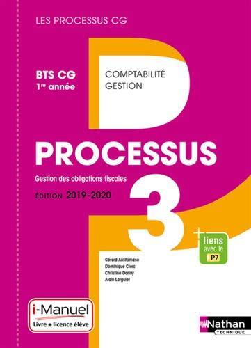 Processus 3 - Gestion des Obligations Fiscales BTS CG 1re année