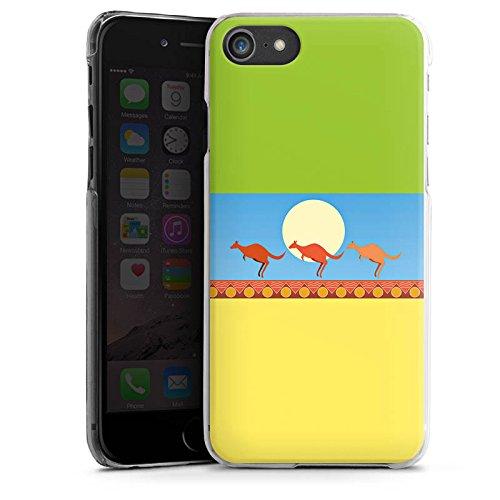 Apple iPhone X Silikon Hülle Case Schutzhülle Australien Känguru Urlaub Hard Case transparent