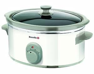 Breville VTP067 White 3.5 L Slow Cooker