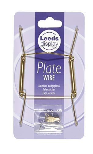 Leeds Display 13 à 19 cm : Crochet laiton pour assiette