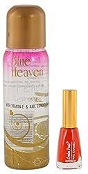 Blue Heaven Nail Polish Remover with Nail Polish, 100 ml