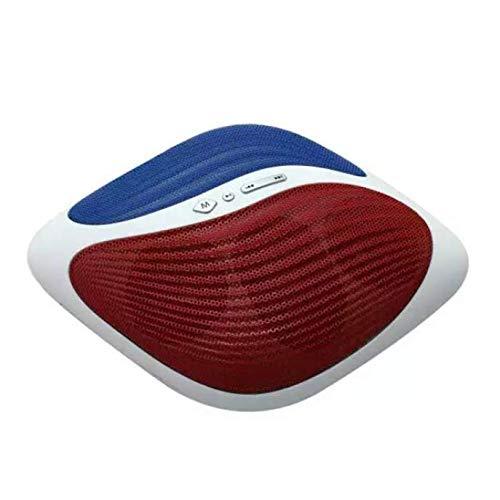 OPAKY Tragbarer, stilvoller, drahtloser Bluetooth-Lautsprecher unterstützt FM/TF für iPhone, Samsung usw.