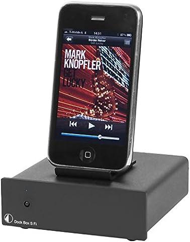 Pro-Ject Dock Box Dockingstation für Apple iPod schwarz