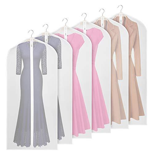 Univivi Kleidersack 152,4cm Anzug Tasche für Lagerung (klar), -
