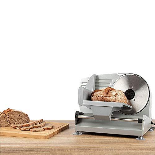 """7.6\"""" Meat Slicer Elektro Fleisch Schneidemaschine Maschine Allesschneider Brotschneidemaschine Elektrisch Einstellbare Dicke, Speck Brot Obst Gemüse Fleisch Schinken Lebensmittel Käsehobel,110V"""