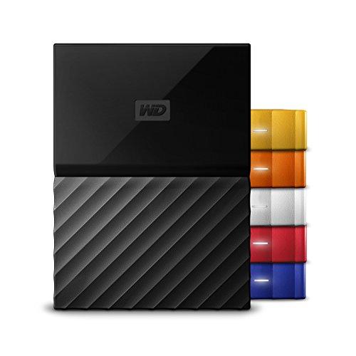 WD My Passport WDBYFT0020BBK-WESN 2TB External Hard Disk Black Price in India