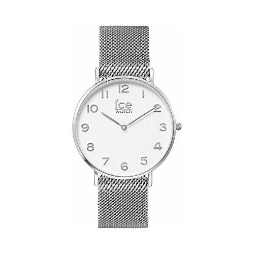 Orologio Ice Watch Unisex IC.012701 Al quarzo (batteria) Acciaio Quandrante Bianco Cinturino Acciaio