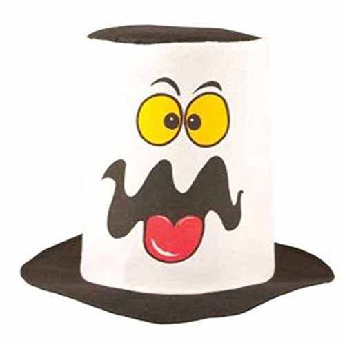Sofias Closet Fancy Kleid Ghost Top Hat Halloween Neuheit Ghoul Topper Zubehör (Ghost Ghoul Kostüm)