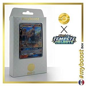 Trépassable-GX (Palossand-GX) 82/168 - #myboost X Soleil & Lune 7 Tempête Céleste - Box de 10 Cartas Pokémon Francés