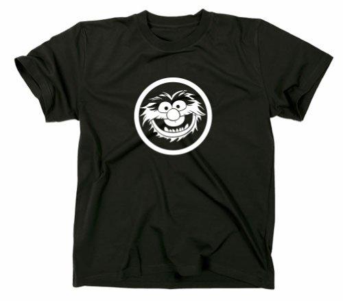 Animal Tier Muppets T Shirt, XXL, schwarz -