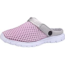 Gaatpot Zuecos para Unisex Adulto Sandalia Zapatos Zapatillas Chanclas de Playa de Verano Rosa 37 EU = 38 CN