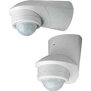 Grothe Bewegungsmelder 360 Grad 230 V, Aufputz, IP55, Mc Guard Pro BM 360 ws, weiß, 5167041