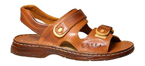 Confortevoli sandali uomo in vera pelle di bufalo ortopedici scarpe modello-812