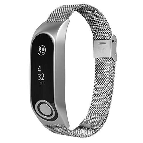 Xbeast Uhrenarmband 20mm - Edelstahl-Armband Ersatzband für Tomtom Touch/Mit Kontaktstiften und Sicherheitsschnalle