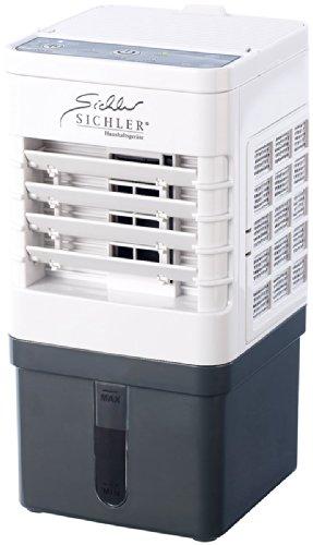 Sichler Haushaltsgeräte Mobile Klimaanlage: Kompakter Mini-Akku-Luftkühler mit Wasserkühlung, 9 Watt, 40 ml/Std. (Auto Mini Klimaanlage)