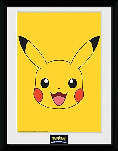GB-Eye-LTD-Pokemon-Pikachu-Fotografia-Enmarcada-40-x-30-cm