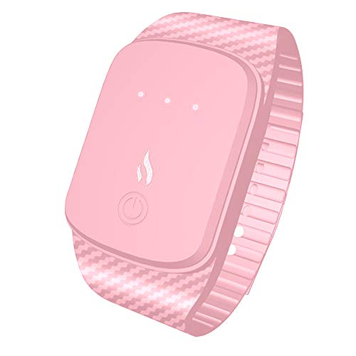 Smart Watch, Fulltime® Hommes Femmes Mode casual Contrôle de La Température Bracelet (Rose)