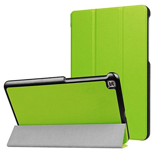 LG G Pad IV 8.0/G Pad X28.0FHD Fall, ratesell Slim Fit Haltbar Premium Leder Folio Schutzhülle für LG G Pad IV 8.0/V533(Kanada), GPAD X28.0Plus (T-Mobile) Tablet, Grün