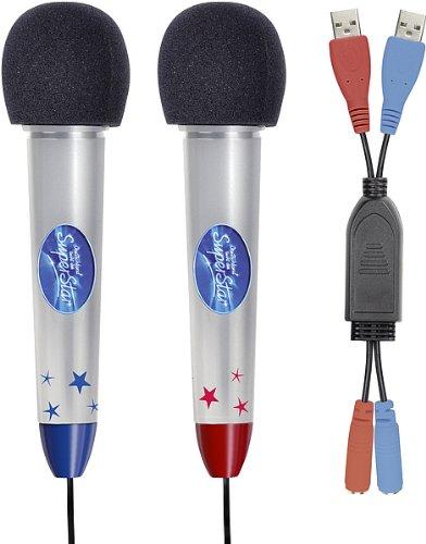 """Speedlink Mikrofon-Set """"Deutschland sucht den Superstar"""" Wii/Wii U (DSDS-Mikro für die Nintendo Wii)"""
