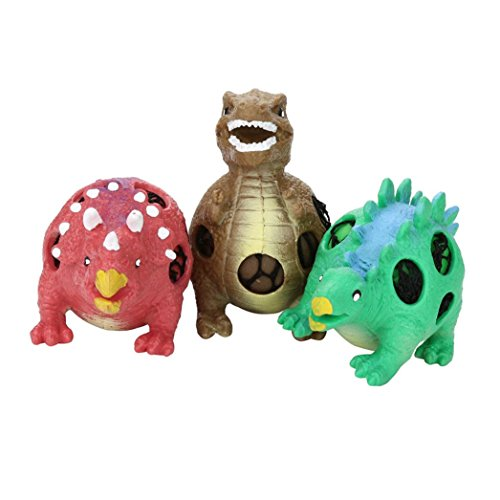 Holeider Spielzeug Squishy Stress Weich langsam Steigende Dekompression Squeeze Stress Relief Spielzeug Dinosaurier-Modell-Trauben-Entlüftungs-Bälle Duftenden Charme