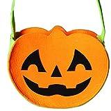Lina13Wu Beutel für Süßigkeiten, Halloween, Mini Lächeln, Gesicht, Kürbis Katzen, Zombie Motiv,...