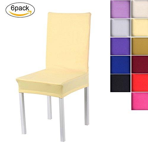 Sundautumn-6-x-Housse-de-Chaise-Universelle-Extensible-pour-Dcoration-de-Chaise-Moderne