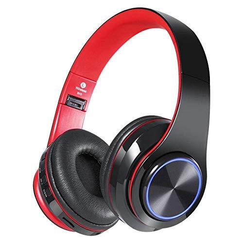XXQ Bluetooth Sport Headset, Wireless Folding Stereo Luminescent Headset Folding Stereo