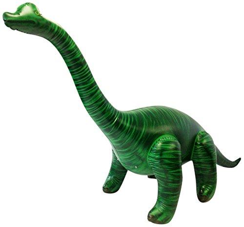 Goodtimes Dinosaurier Brachiosaurus XXL aufblasbar - Kinderspielzeug - - Dinosaurier Kostüm Schnee