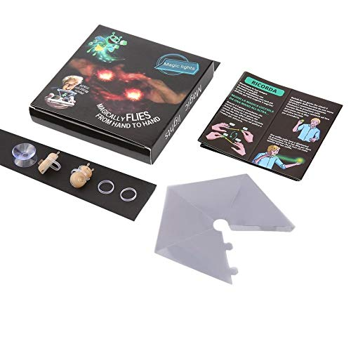 TangDay 3D Honeybee Magic Lights Helle Bugz Finger Prop Lampe Hologramm Projektion Spielzeug