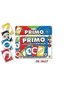 Teorema Juguetes-Juego de Cartas Primo 4Colores 2Barajas de 56Unidades, Multicolor, 3.te40450