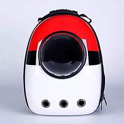Burbuja de la cápsula Espacial, Bolsa de Viaje con cápsula Espacial para el Uso de Mascotas, Mochila portátil para Exteriores de Gato, Mochila portátil para Llevar Burbujas por FLHLH.CO