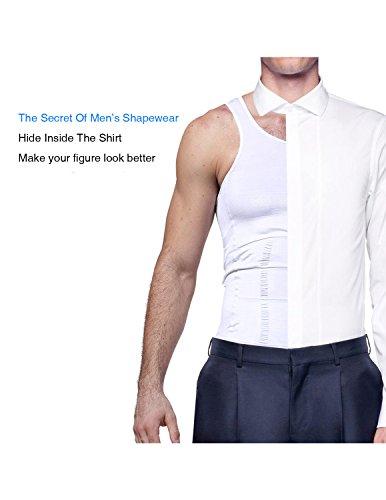 Zoom IMG-3 sttlzmc snellente gilet uomo shapewear