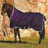 Horseware Rambo Wug Weidedecke (Regendecke) 125cm ohne Füllung Purple/Silver