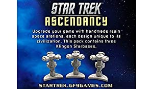 Gale Force Nine gf9st030 No Star Trek ascen Dancy: Klingon Star Bases, Juego